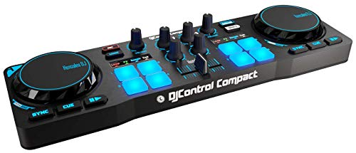 Hercules DJ Control Compact (2-Deck DJ Controller,...