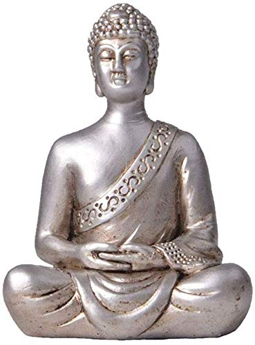 WQQLQX Statue Buddha Statue Sitzen Buddha Statue...