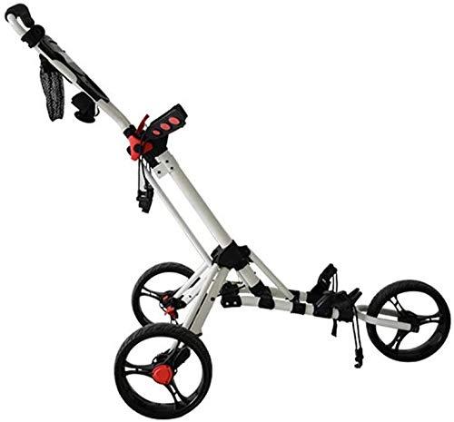 LBWARMB Golf trolleys Golf Push Cart Golf-Trolley...