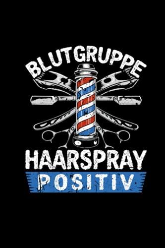 Blutgruppe Haarspray: Friseur Bedarf Notizblock...