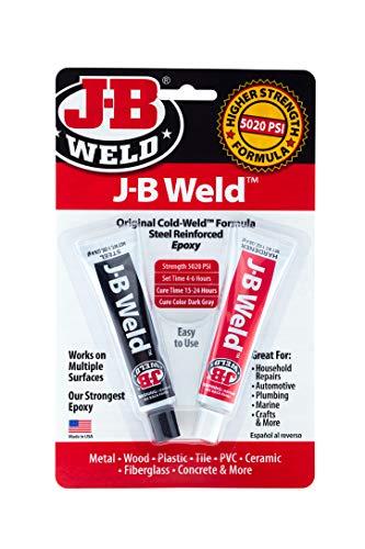 J-B Weld 8265S-6PK Schweißmasse, 6 Stück