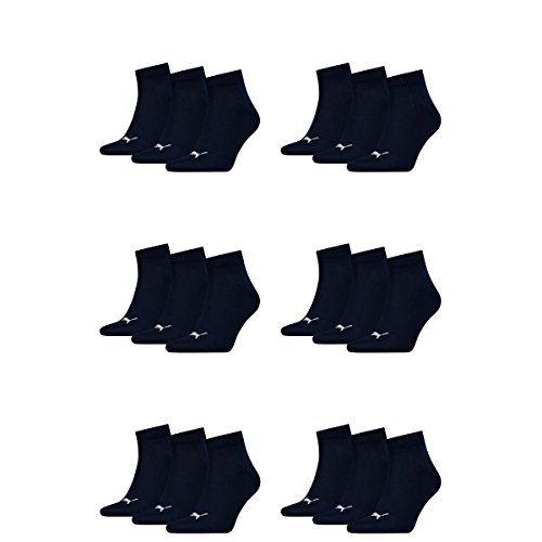 Puma 18 Paar Unisex Quarter Socken Sneaker Gr....