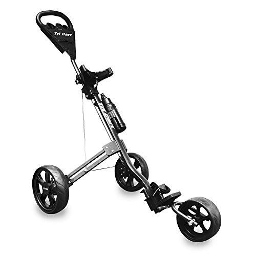LONGRIDGE Golf CARTS/TROLLEYS TRI CART 3 Wheel...