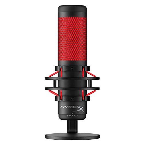 HyperX HX-MICQC-BK QuadCast - Standalone Mikrofon...