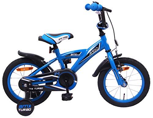 Amigo BMX Turbo - Kinderfahrrad für Jungen - 14...