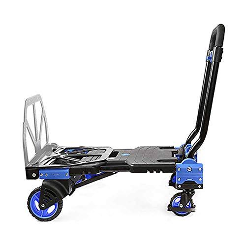 MNSSRN Folding Flach Carts, Trolleys, stabil und...