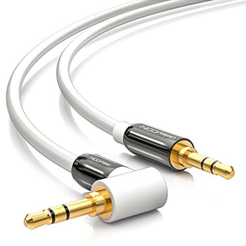 deleyCON 2m Klinkenkabel 3,5mm AUX Kabel Stereo...