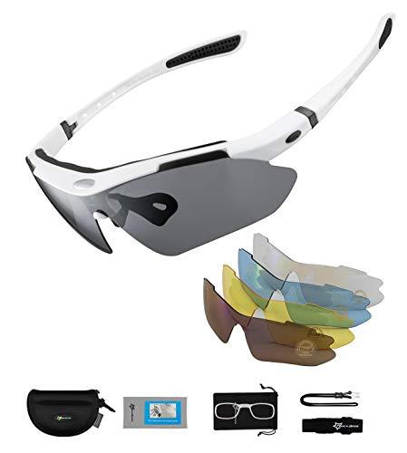 ROCKBROS Polarisierte Brillen Fahrradbrillen...