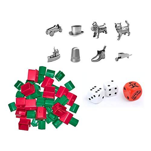 div Hasbro 90002 Bundle - Monopoly - Zubehör Set...