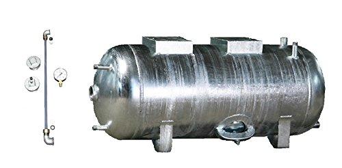 Druckbehälter Druckkessel 100-300 L 6 b mit...