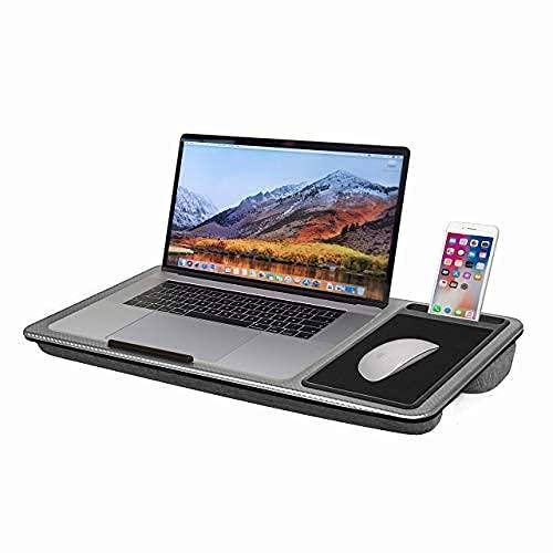 SEFFO Laptopunterlage mit Kissen, Laptop Tisch mit...
