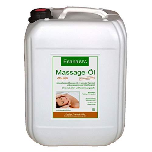 Esana SPA Massageöl neutral (5 Liter) für...