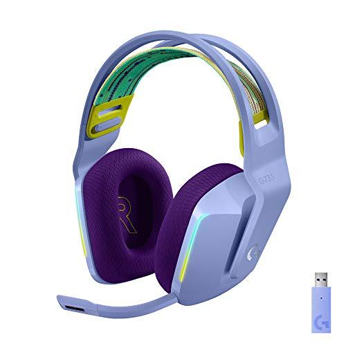 Logitech G733 LIGHTSPEED kabelloses Gaming-Headset...