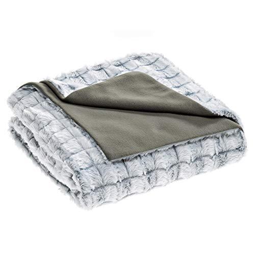 aqua-textil Masha Kuscheldecke 150 x 200 cm grau...
