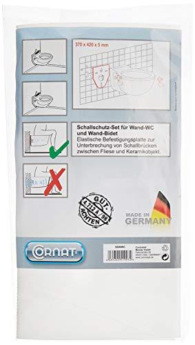 Cornat SSWWC Schallschutz-Set für Wand-WC und...