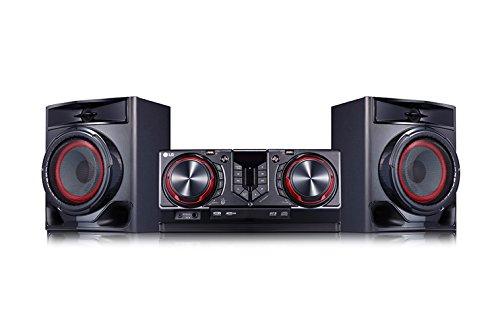 LG CJ44 Kompaktanlage (480 Watt, Bluetooth, USB,...