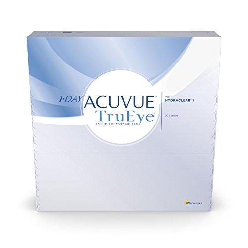 Acuvue 1-Day TruEye Tageslinsen weich, 90 Stück /...