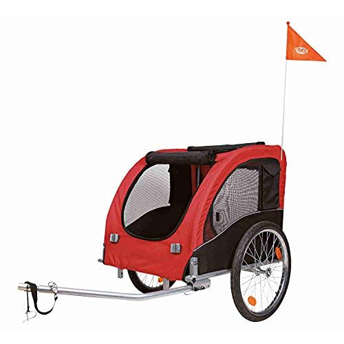 Trixie 12816 Fahrrad-Anhänger, L: 75 × 86 ×...