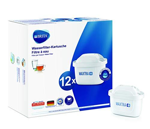 BRITA Wasserfilter-Kartusche MAXTRA+ 12er Pack –...