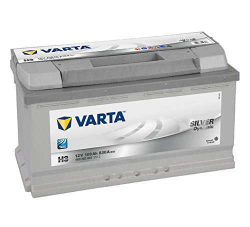 Varta 6004020833162 Autobatterie Silver Dynamic H3...