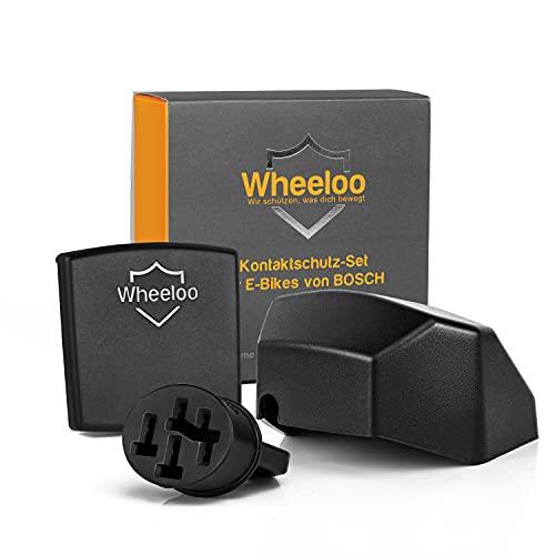 Wheeloo Kontaktschutz 3er Set für Bosch Intuvia +...