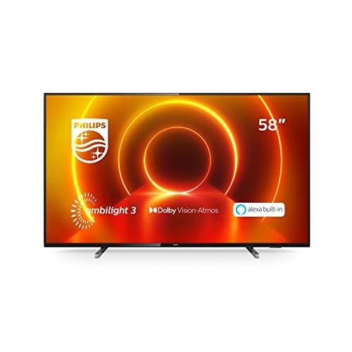 Philips TV 58PUS7805/12 58 Zoll Fernseher mit...
