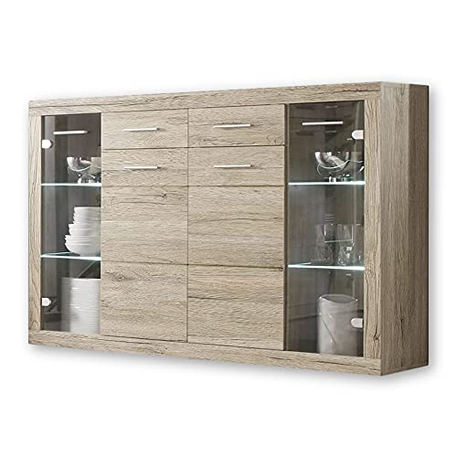 Stella Trading CAN CAN Highboard mit...