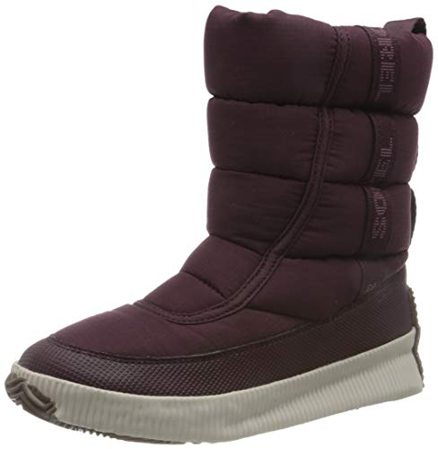 Sorel Damen Stiefel, OUT N ABOUT PUFFY MID, Lila...