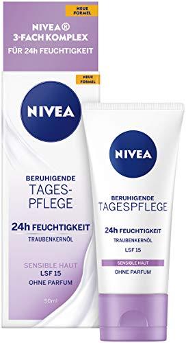 NIVEA Beruhigende Tagespflege 24h Feuchtigkeit (50...