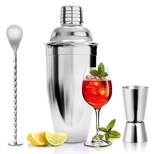 ASANMU Cocktailshaker Set, 750ML Cocktail Shaker...