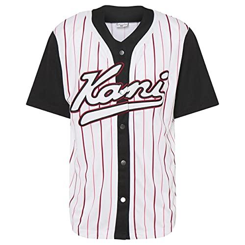 Karl Kani KK Varsity Block Pinstripe Baseball - M