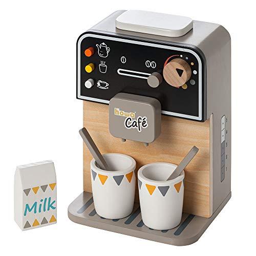 Howa Kaffeemaschine aus Holz incl. 7 TLG. Zubehör...
