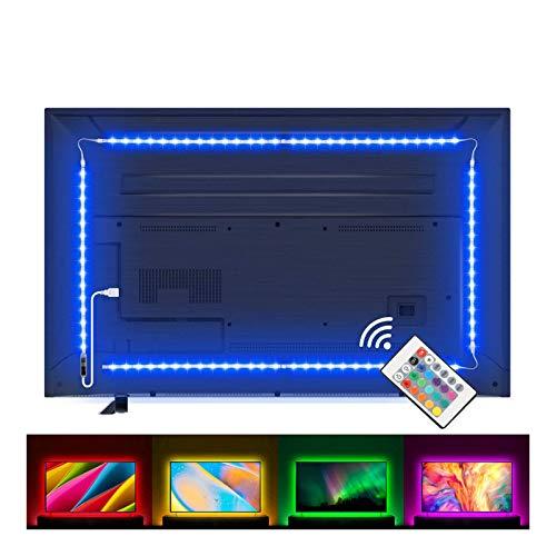 Lampee Led TV Hintergrundbeleuchtung, 2M USB Led...