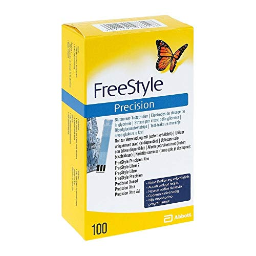 Freestyle Precision Blutzuckerteststreifen, 100 St
