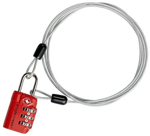 Eagle Creek 3-Dial TSA Lock & Cable...