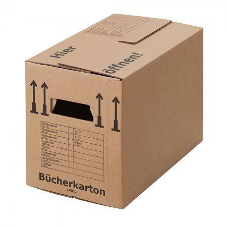 BB-Verpackungen 25 x Bücherkarton Profi 500 x 300...