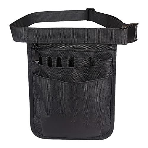 Sharplace Nylon 9 Taschen Organizer Gürtel für...