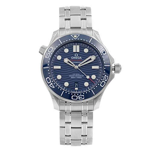 Omega Seamaster Diver 300M Steel Blue Dial Mens...