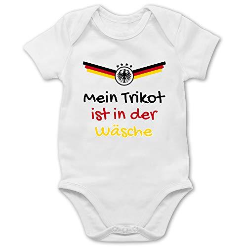 Shirtracer Fussball EM 2021 Fanartikel Baby - Mein...