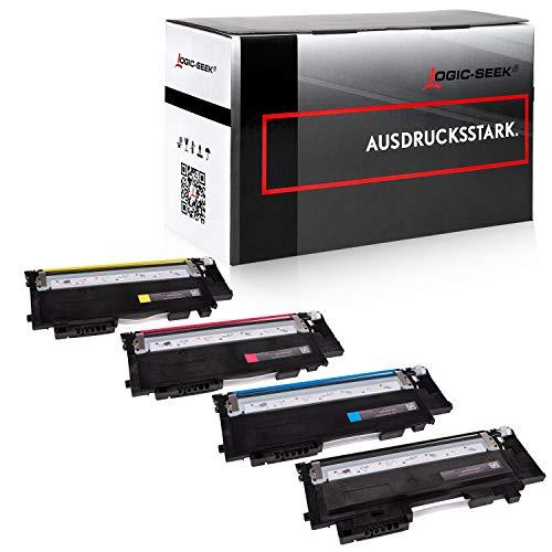 4X Logic-Seek Toner kompatibel für CLT-P404C...