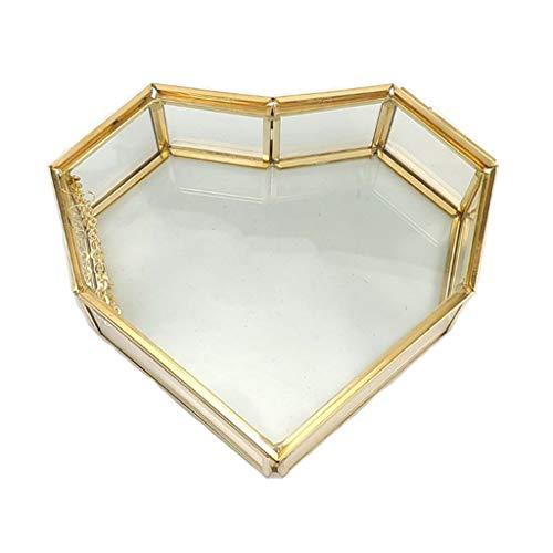 YO-HAPPY Türgriff, herzförmige Vintage Gold...