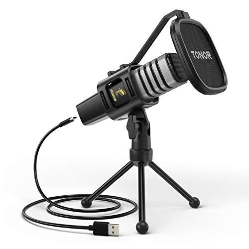TONOR USB Mikrofon Kondensator Computer PC...