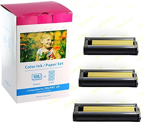 Bubprint Kompatibel Druckerkartusche + Fotopapier...