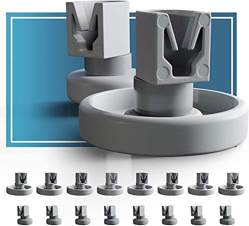 Spülmaschinen Rollen Set für Unterkorb und...