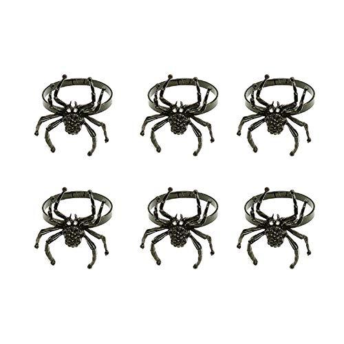 YINLANG Ring, 6 Stück Halloween Spinne...