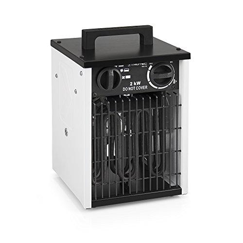 TROTEC Elektroheizer TDS 10 mit 2 kW Heizlüfter...