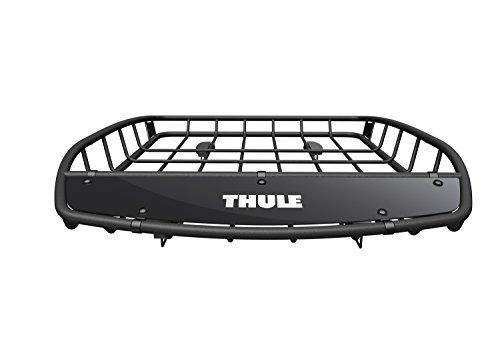 Thule 859002-Gepäckträger Dach Canyon, schwarz