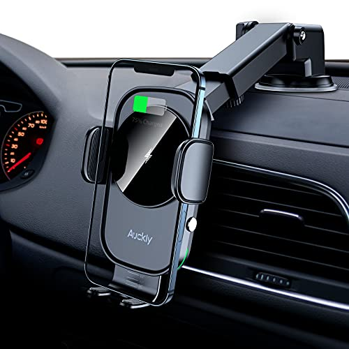 Auckly 15W Fast Wireless Charger Auto...