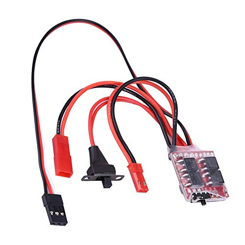 Dilwe RC Auto ESC, 20A Brushed PCB Elektronischer...