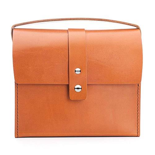 MÜHLE - Kulturtasche aus Rindsleder - groß
